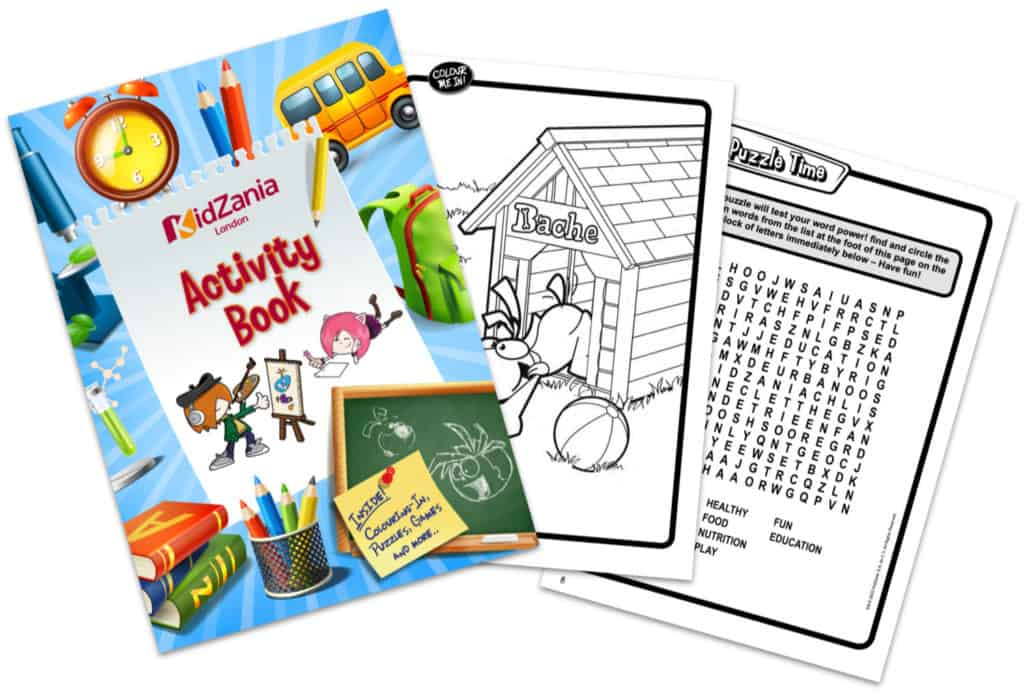 KidZania Activity Book
