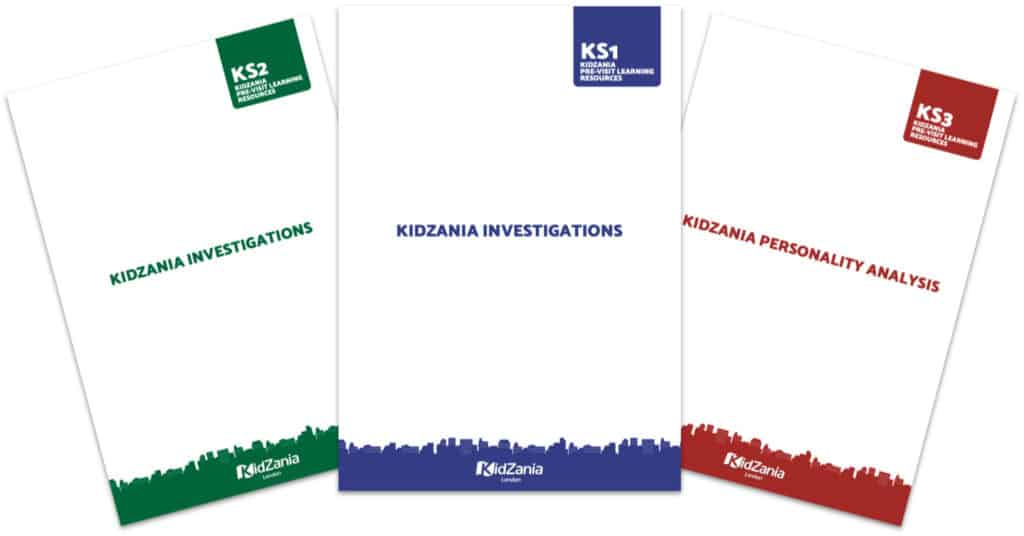 KidZania Investigations Personality Analysis Packs