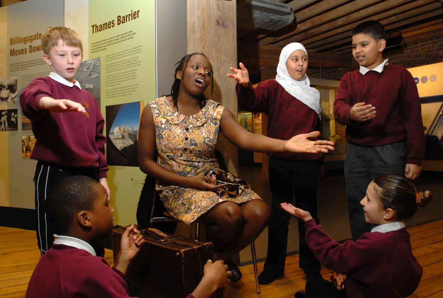 Museum of London Docklands School Trip Photograph