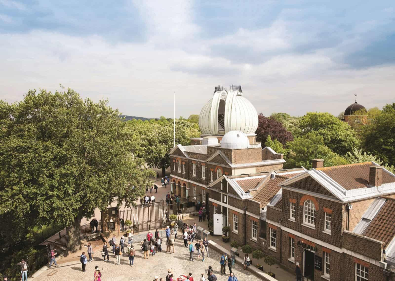Exterior of Royal Museums Greenwich's Royal Observatory