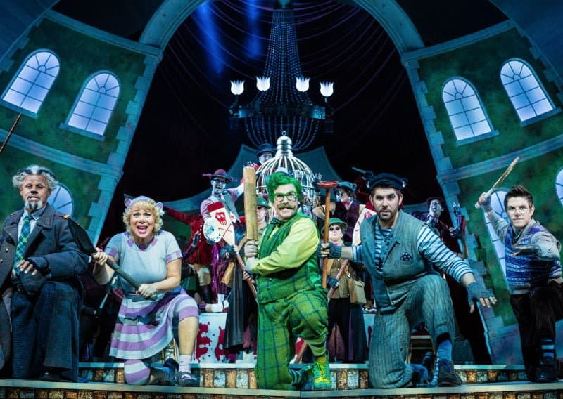 The Wind in the Willows Production Image