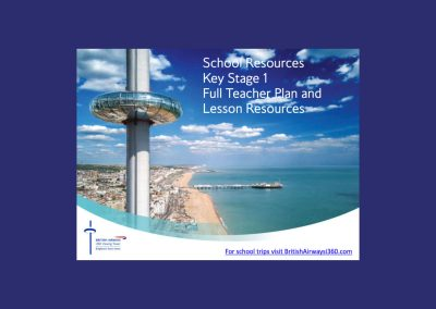British Airways i360 Key Stage 1 Full Teacher Plan & Lesson Resources Teaching Resource Profile Image