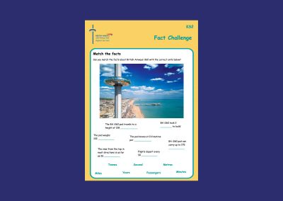 British Airways i360 Key Stage 2 Fact Challenge Teaching Resource Profile Image