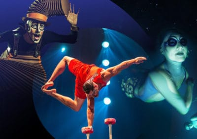 Free Performances & Activities from Cirque du Soleil