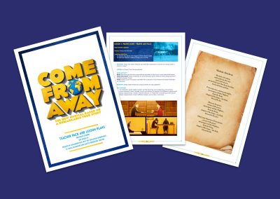 Come From Away Religious Studies Education Pack Teaching Resource Profile Image