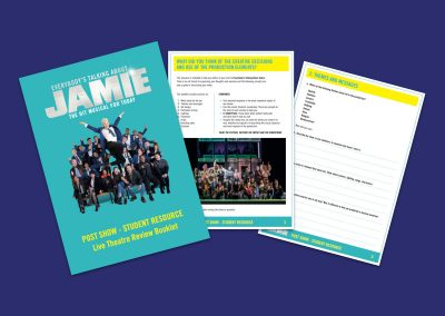 Everybody's Talking About Jamie Live Theatre Review Pack