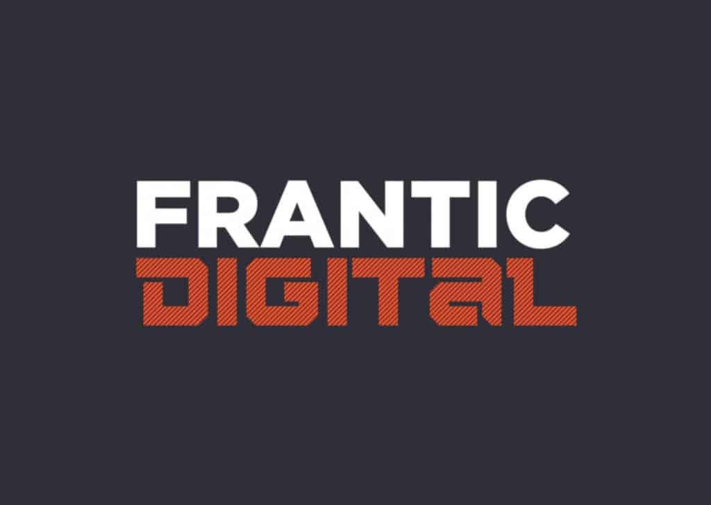 Frantic Assembly's Frantic Digital logo