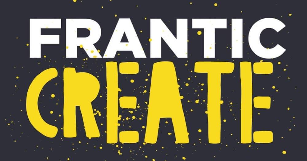 Frantic Assembly's Frantic Digital: Frantic Create Logo