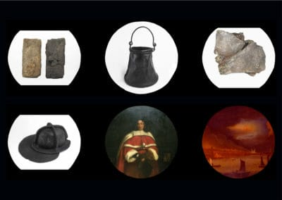Great Fire of London Objects