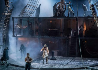 Production shot from the National Theatre's National Theatre At Home production of Treasure Island