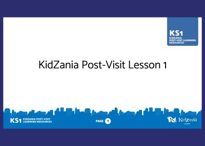 KidZania KS1 Post-Visit Presentation Teaching Resource Profile Image