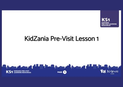KidZania KS1 Pre-Visit Presentation Teaching Resource Profile Image