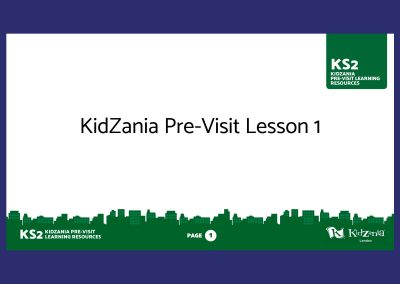 KidZania KS2 Pre-Visit Presentation Teaching Resource Profile Image