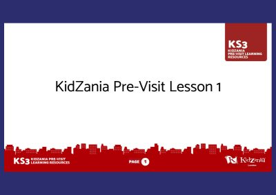 KidZania KS3 Pre-Visit Presentation Teaching Resource Profile Image