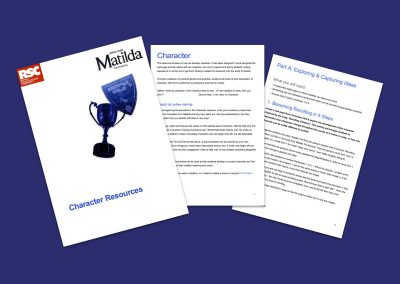 Matilda The Musical Character Resources Teaching Resource Profile Image