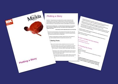 Matilda The Musical Plotting a Story Teaching Resource Profile Image