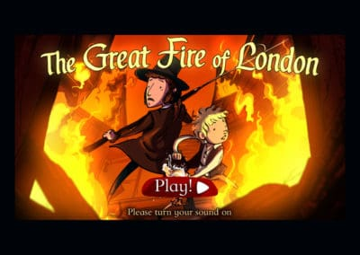 Museum of London The Great Fire of London Game Teaching Resource Profile Image