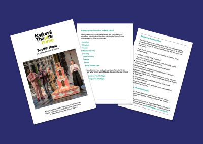 National Theatre At Home Twelfth Night Teaching Resources Profile Image
