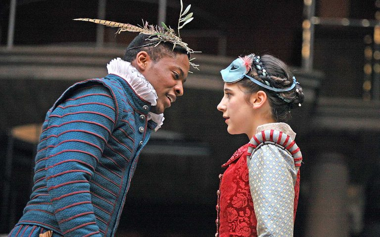 Shakespeare's Globe production of Romeo & Juliet Production Shot