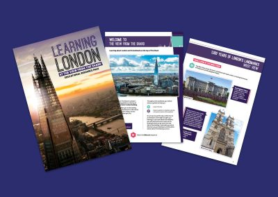 The View from The Shard Learning London Educational Resource Pack Resource Profile Image