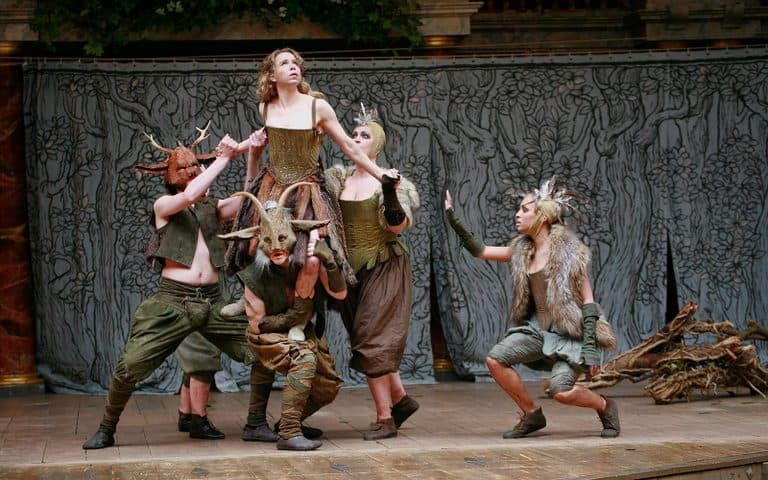 Shakespeare's Globe production of A Midsummer Night's Dream Production Shot