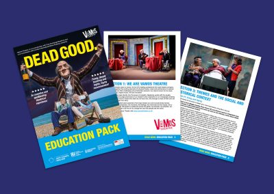 Vamos Theatre's DEAD GOOD Education Pack Teaching Resources Profile Image