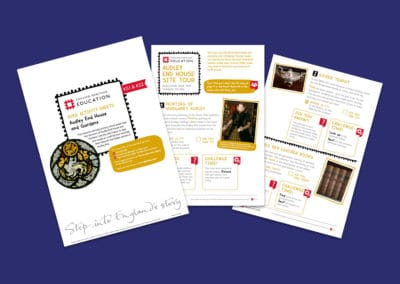 Audley End House and Gardens Pupil Activity Sheets