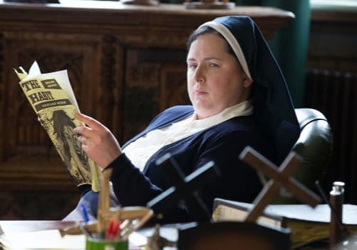Sister Michael from Derry Girls 1