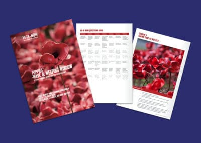 14–18 NOW Poppies WW1 Learning Resource Pack Resource