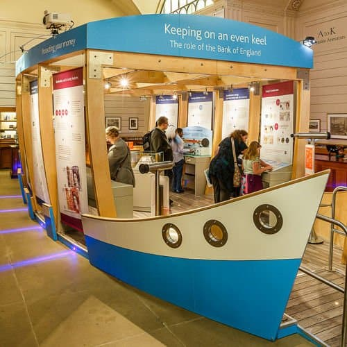 Bank of England Museum Boat