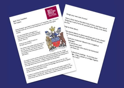 Bath Record Office's Design Your Own Coat of Arms Resource