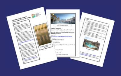Bath World Heritage Site Hot Springs Teaching Resource