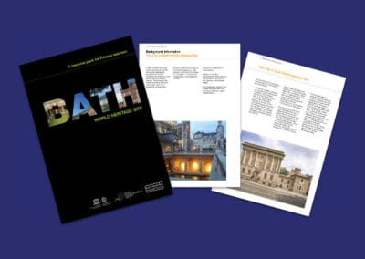 Bath World Heritage Site Primary Resources