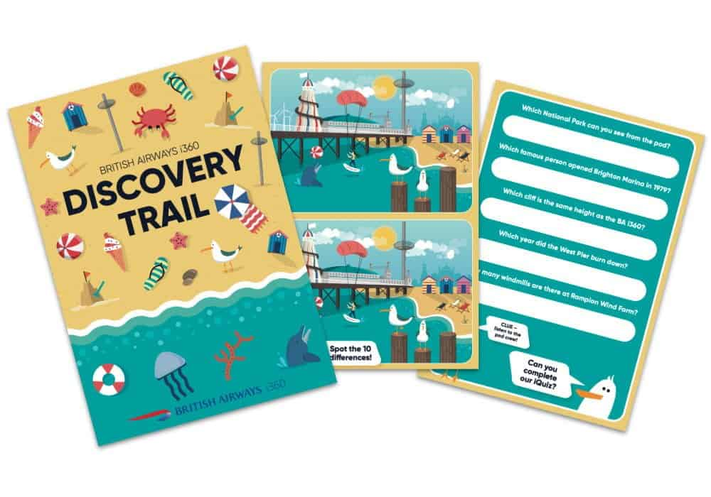 British Airways i360 Home Learning Teaching Resources and Activity Pack Image