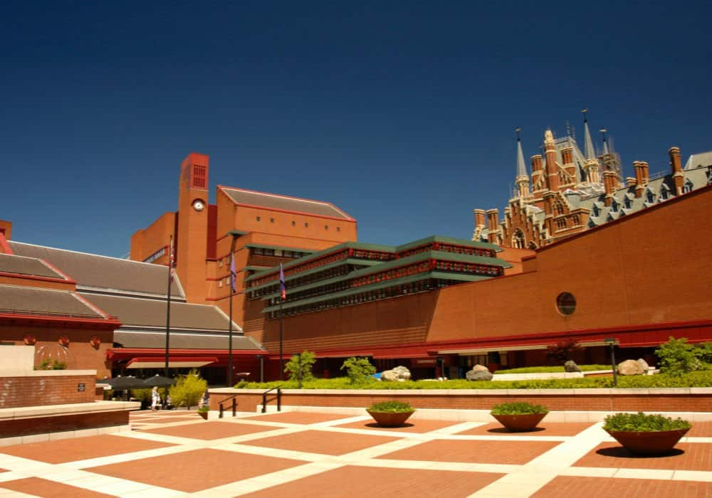 British Library External Shot