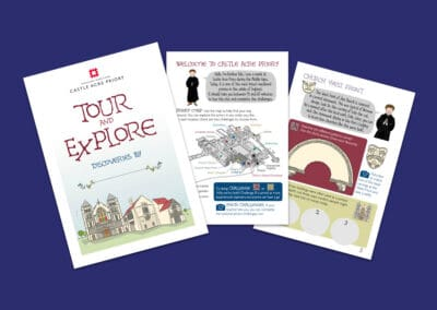 Castle Acre Priory Tour and Explore Student Booklet