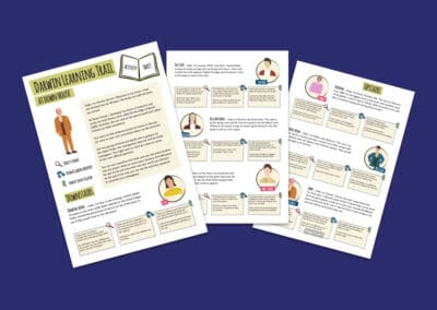Darwin Learning Trail Activity Sheets Resource