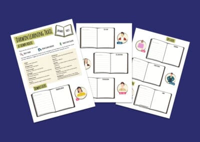 Darwin Learning Trail Answer Sheets Resource