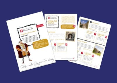 Deal Castle Student Activity Sheets Resource
