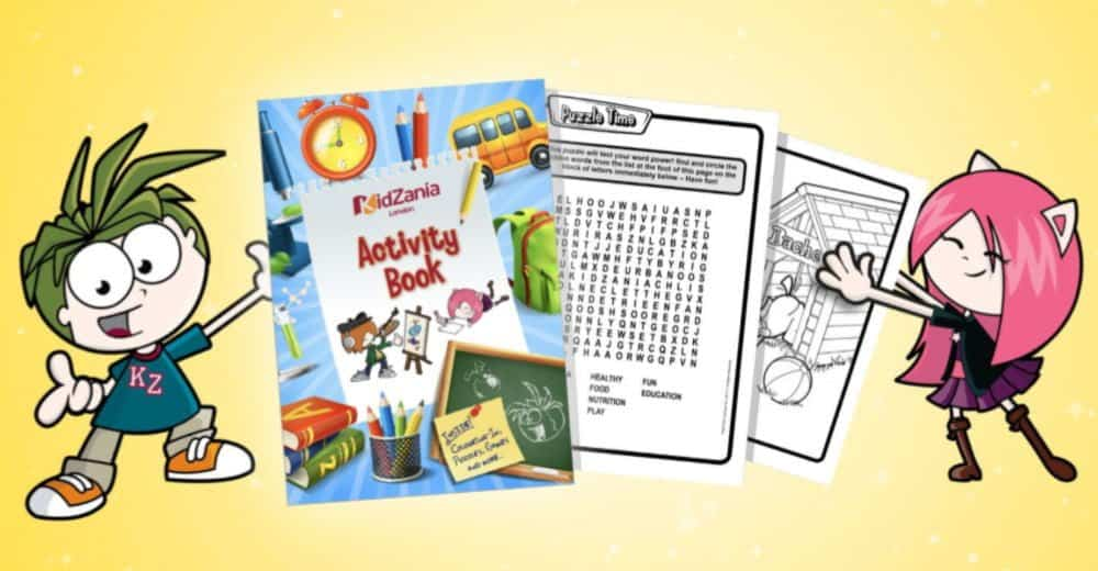 KidZania Home Learning Teaching Resources Hub with Free Kids Summer Activities