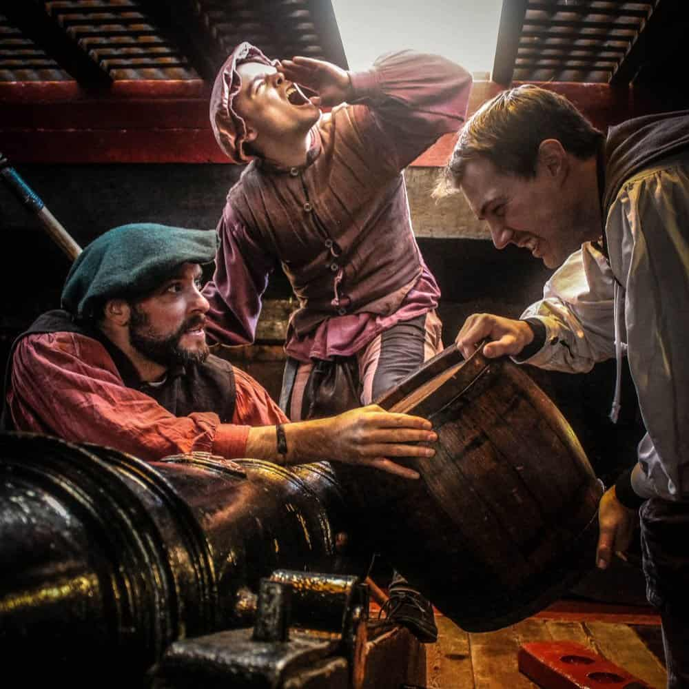 The Golden Hinde's Teaching Resources Education Programmes Gun Deck