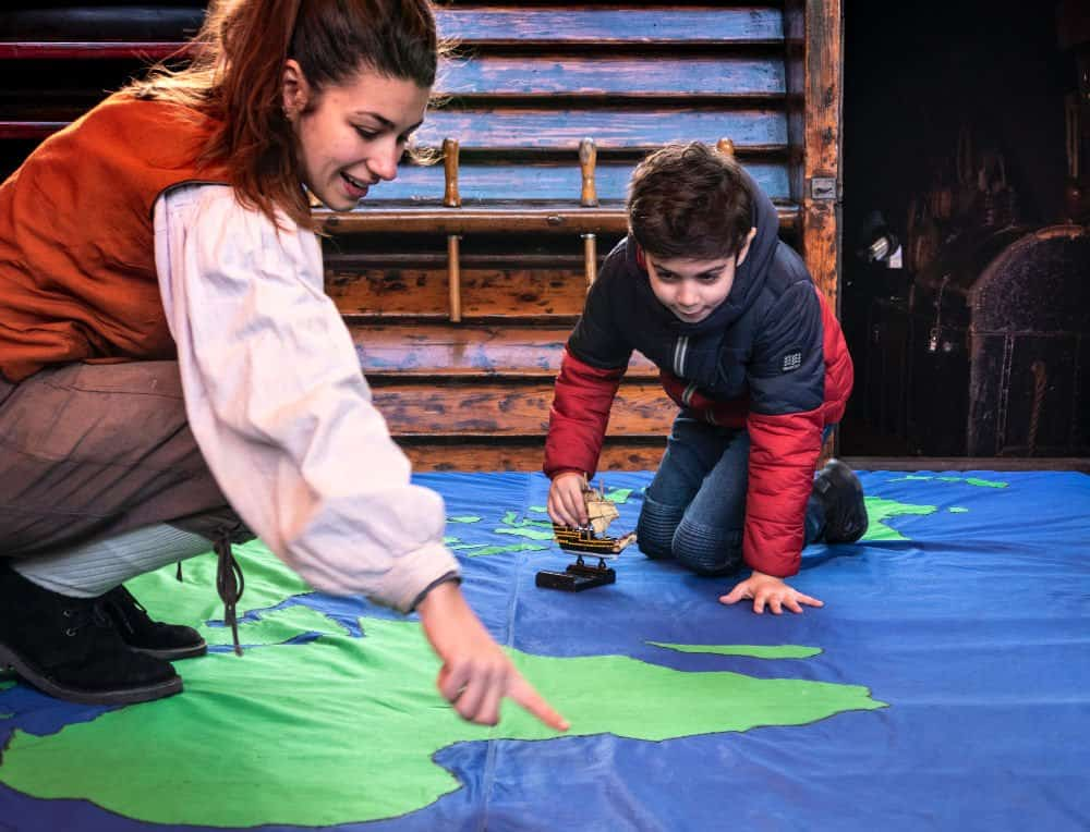 The Golden Hinde's Teaching Resources Education Programmes