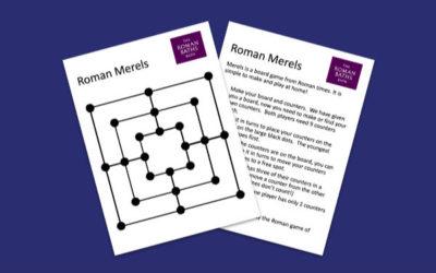 The Roman Baths' Merels Game