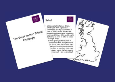 The Roman Baths' The Great Roman Britain Challenge 2 Resource