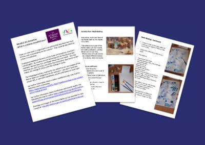 Victoria Art Gallerys Mindful Art Activities Resource Profile Image