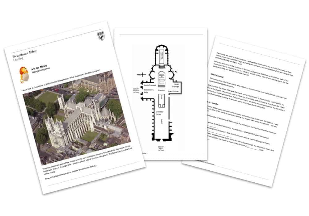 Westminster Abbey A to Z Home Learning Teaching Resources Image