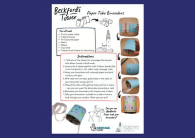 Beckford's Tower's Loo Roll Binoculars Resource