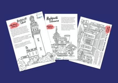 Beckford's Tower's Mindfulness Colouring Sheets Resource