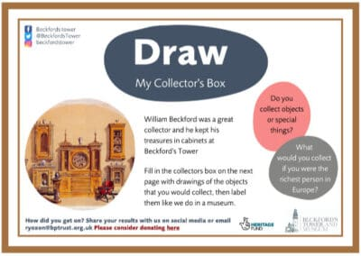 Beckford's Tower's My Collectors Box Resource