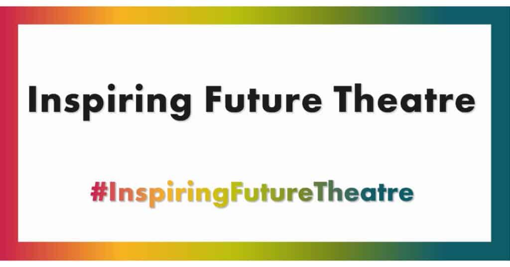Inspiring Future Theatre Day Logo